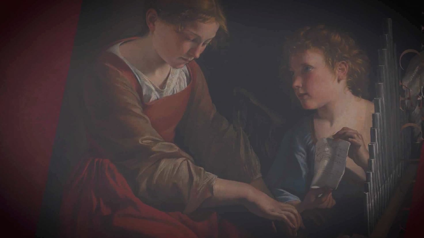 St Cecilia Painting