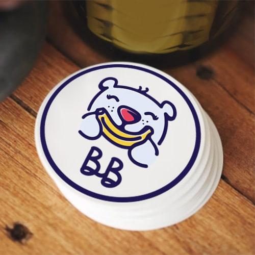 Logo Design for Banana Bear etsy store